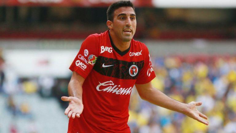 Hernán Pellerano como jugador de Xolos