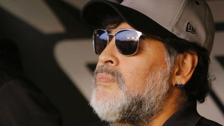 Diego Armando Maradona como DT de Dorados