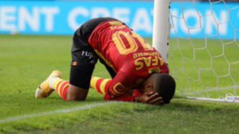 Increíble falla frente a la portería en Liga de Bélgica