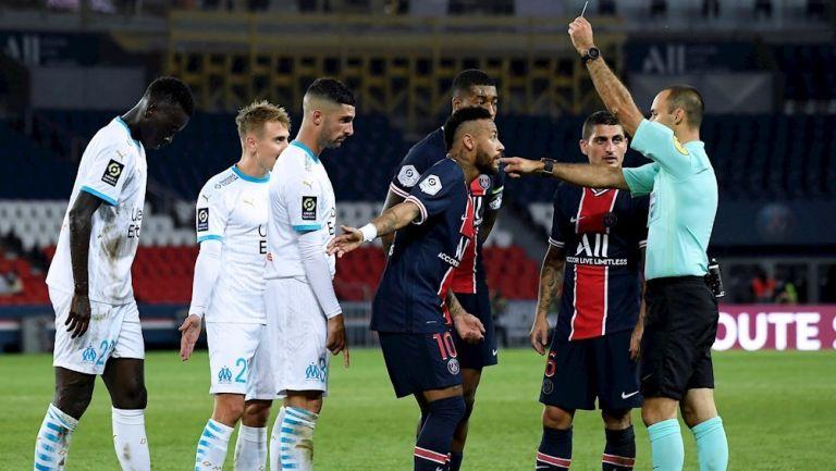 Ligue 1: PSG y Marsella protagonizaron pelea en el clásico francés | RÉCORD