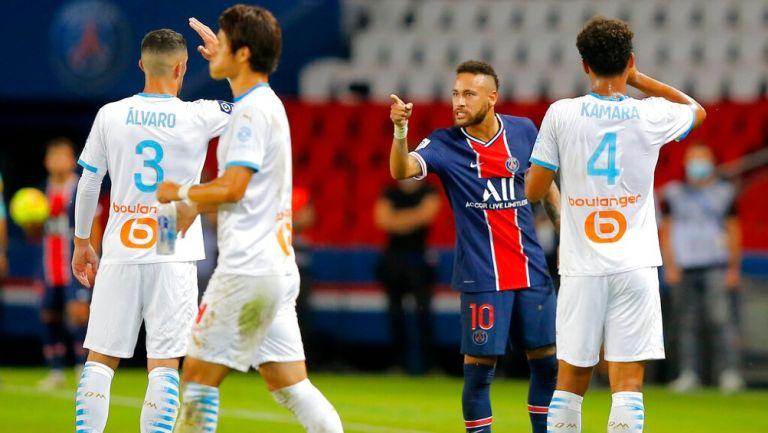 Neymar a Álvaro González: 'No eres hombre para asumir tu error' | RÉCORD