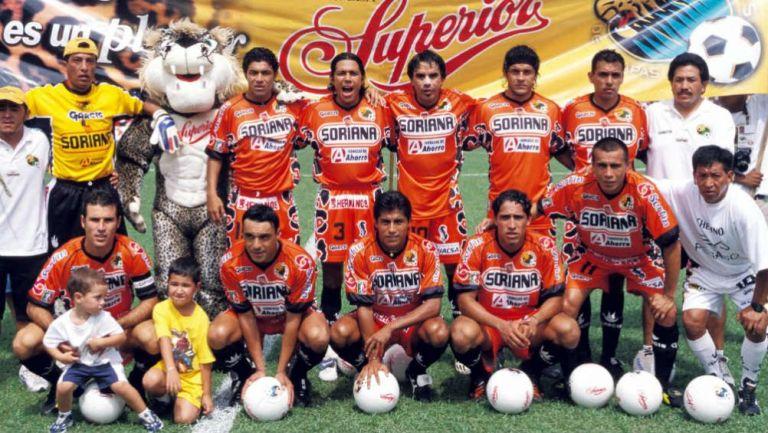 Equipo de Jaguares de Chiapas en 2002