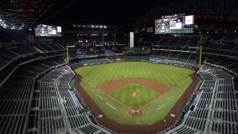 El nuevo estadio de los Rangers de Texas