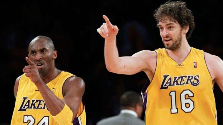NBA: Pau Gasol nombró a su hija Gianna en honor a Kobe Bryant