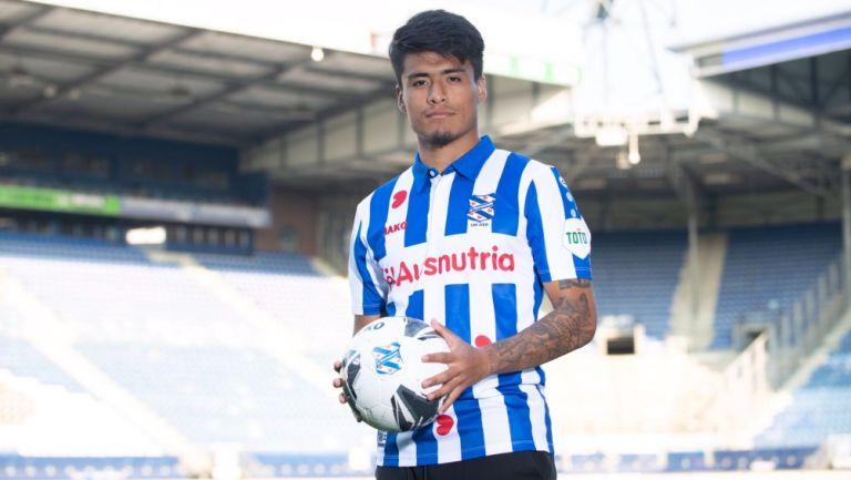Ulysses Llanez, nuevo jugador del Heerenveen