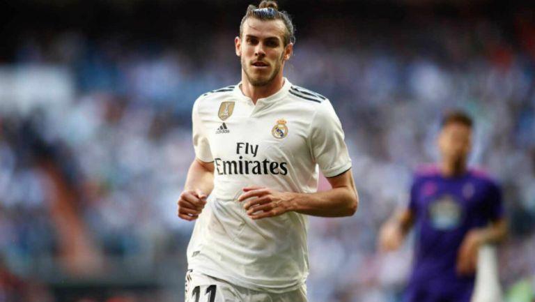 Bale en partido con Real Madrid