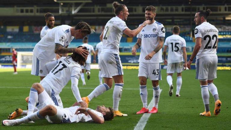 Premier League: Leeds de Bielsa consiguió su primer triunfo al derrotar al Fulham