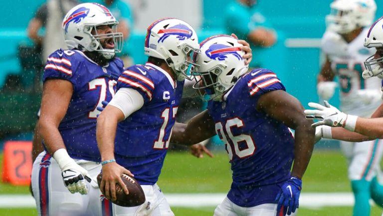 Los Bills superaron a los Dophins 31-28