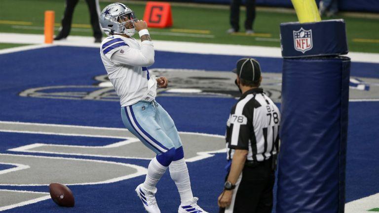 Cowboys remontan deficit de 20 puntos para derrotar a Atlanta