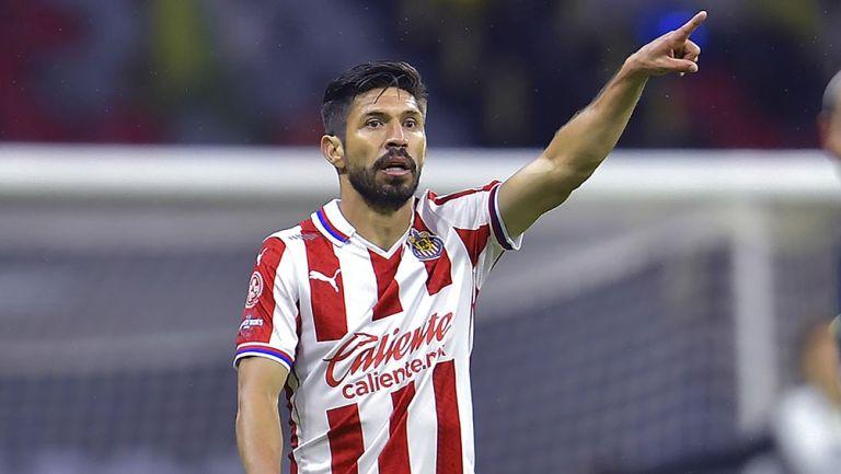 Oribe Peralta el el Clásico contra América