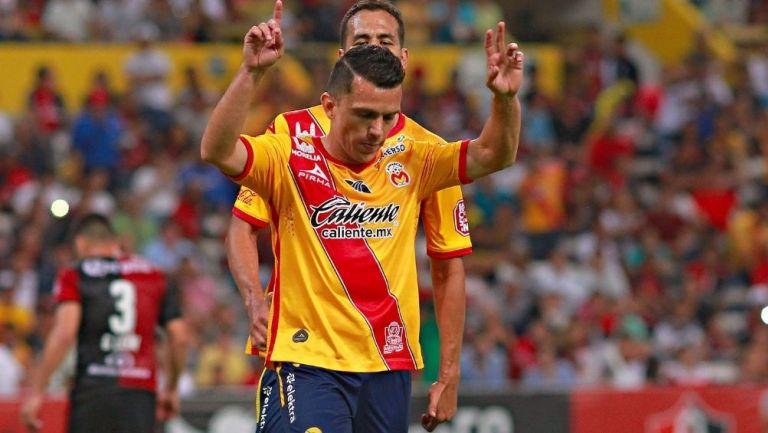 El Chato Rodríguez durante un partido