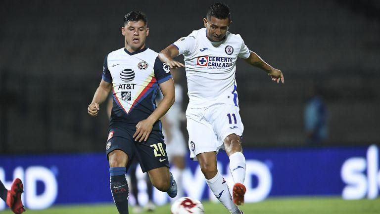 América vs Cruz Azul paritdo de Copa Por México