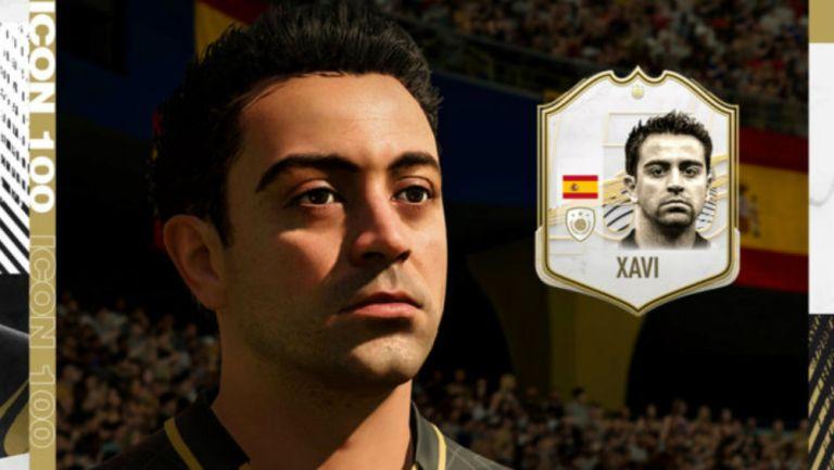 Xavi Hernández en FIFA 21