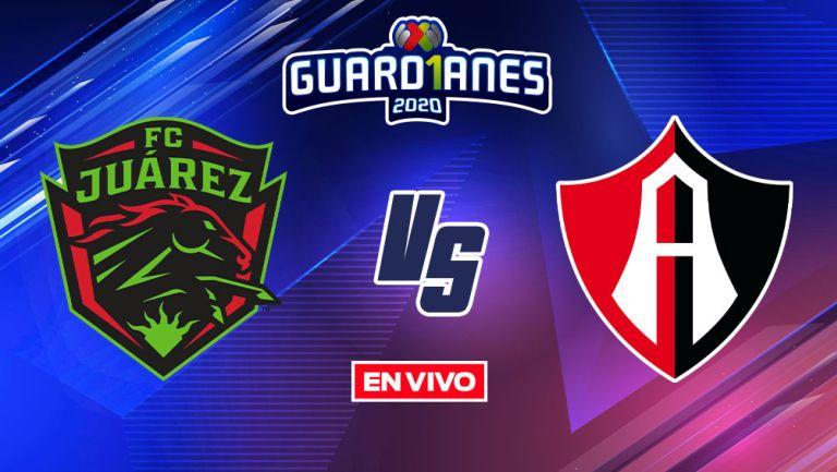 EN VIVO Y EN DIRECTO: Juárez vs Atlas Guardianes 2020 J12