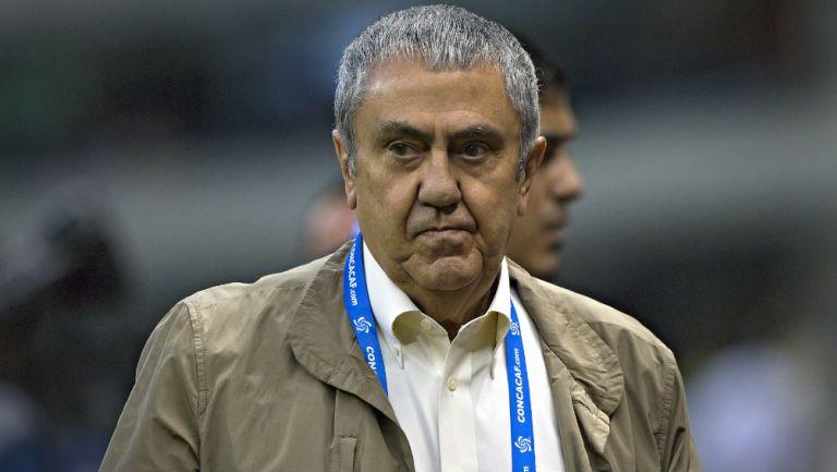 Alejandro Rodríguez previo a un partido