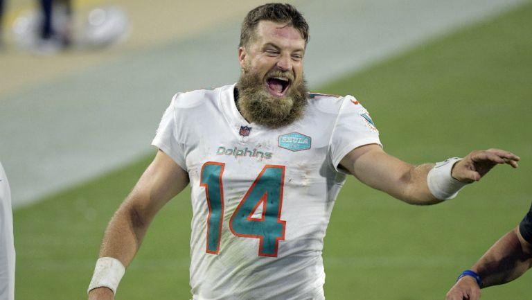 NFL: Miami derrotó a Jacksonville con destacada actuación de Fitzpatrick