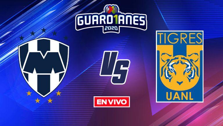 EN VIVO Y EN DIRECTO: Monterrey vs Tigres Guardianes 2020 J12