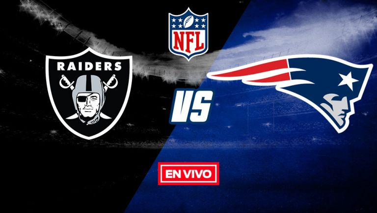 EN VIVO Y EN DIRECTO: Raiders vs New England Patriots 2020 S3