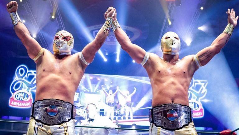 CMLL: 87 Aniversario se vivió con una noche de campeones
