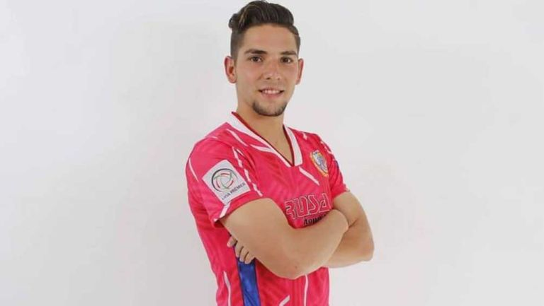 Alessandro Amador, en la ficha de la Liga Premier de México