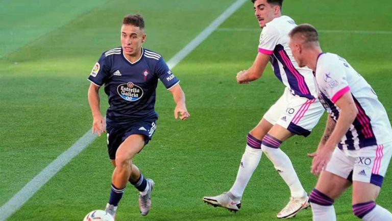 Acciones del juego entre Valladolid y el Celta de Vigo