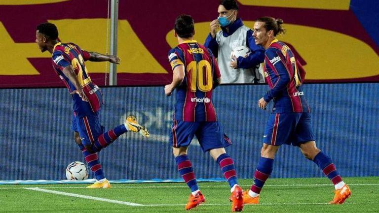 Barcelona: Ansu Fati lidera a los blaugranas en su primera goleada del torneo