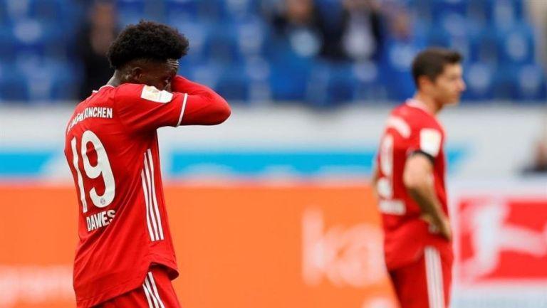 Bayern Munich cayó frente al Hoffenheim