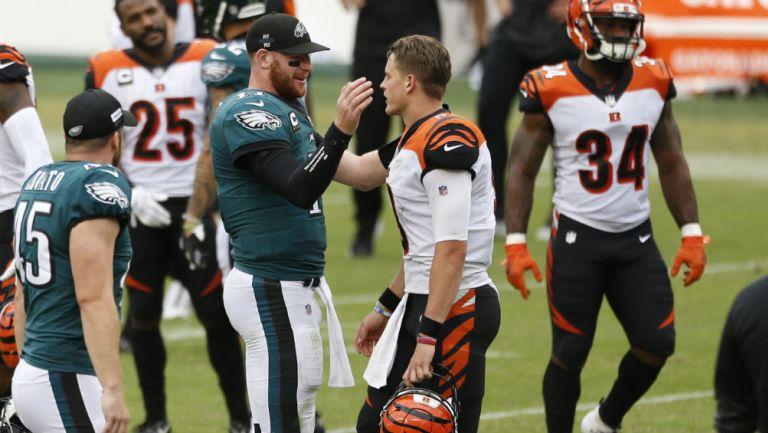 NFL: Eagles y Bengals empataron por segunda vez en su historia