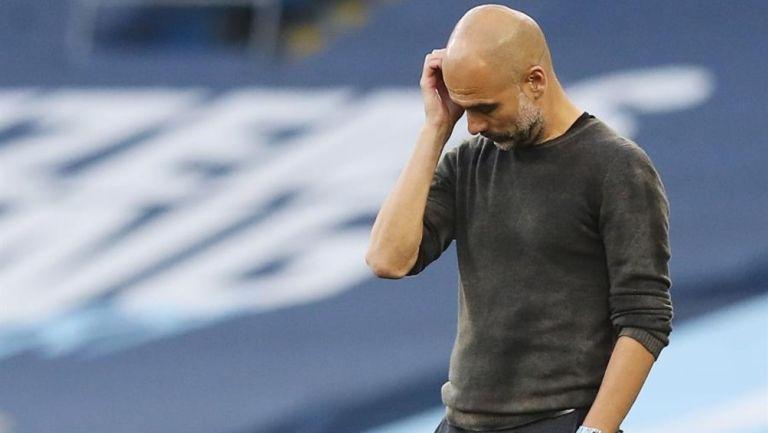 Pep Guardiola tras goleada ante Leicester: 'Hay que aceptarlo y seguir adelante'