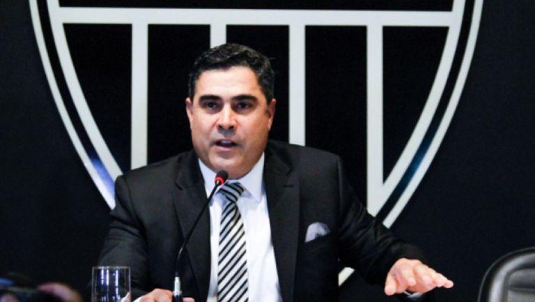 Sergio Sette Câmara, en una conferencia