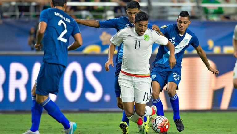 México vs Guatemala en la Copa Oro 2015