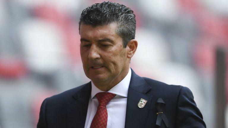 Chepo de la Torre como entrenador de Toluca