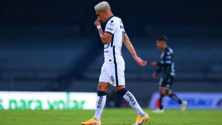 Favio Álvarez tras salir expulsado ante Necaxa