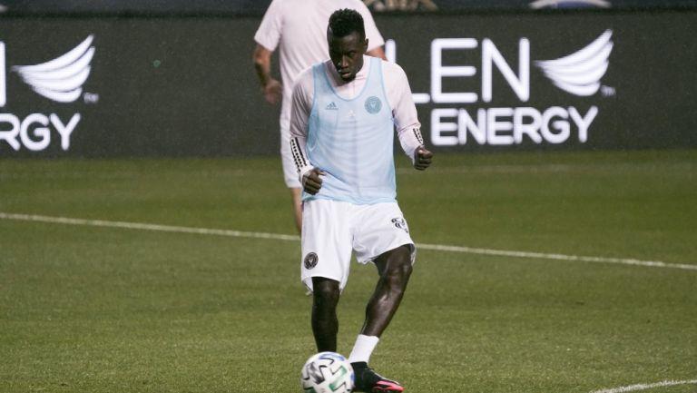 Blaise Matuidi previo a un partido con Inter Miami