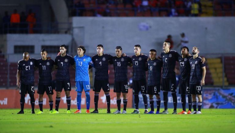 México previo a un partido vs Panamá