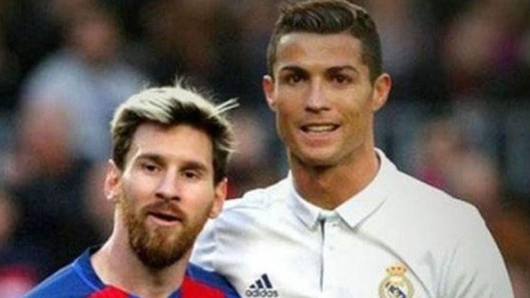 Messi y CR7, juntos en un Clásico Español
