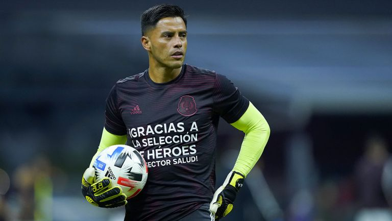 Alfredo Talavera previo al México contra Guatemala