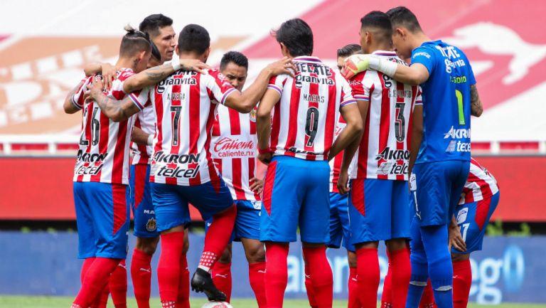 Chivas previo a un partido