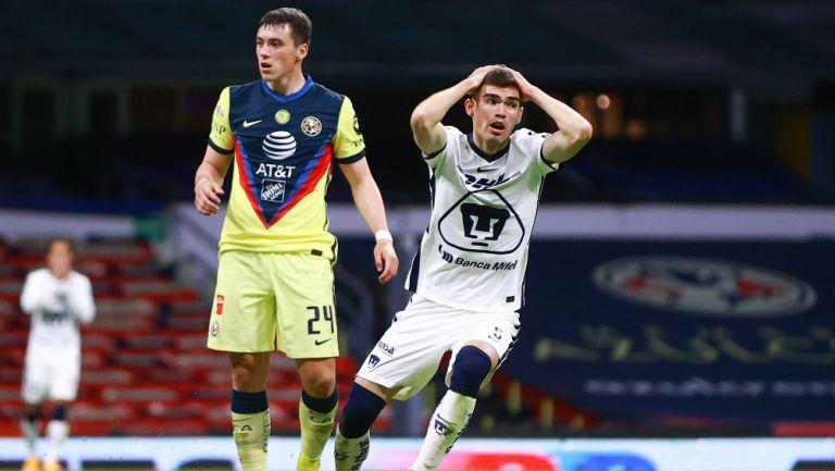 Clásico Capitalino: América y Pumas no defraudaron y empataron en duelo de goles