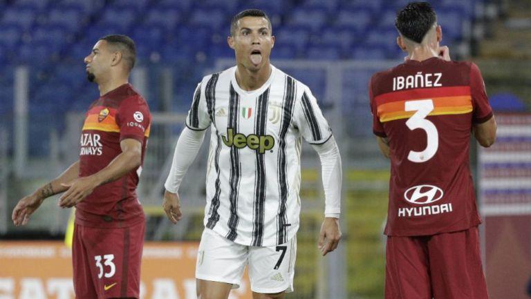 Cristiano Ronaldo en lamento con la Juventus