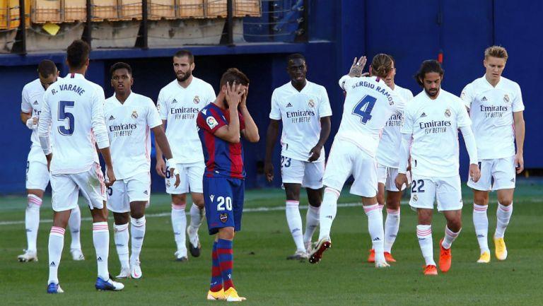Real Madrid: Derrotó al Levante y se coloca en la cima de la tabla general