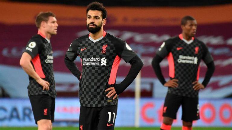 Jugadores de Liverpool se muestran sorprendidos por la goleada