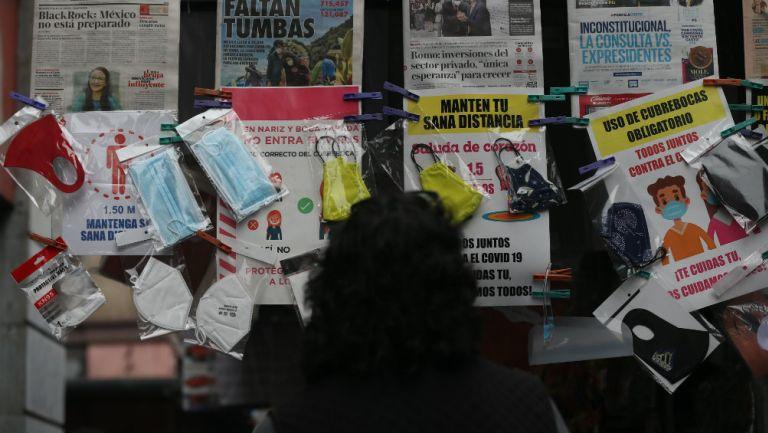 México rompió récord de infectados y muertos en 24 horas por coronavirus