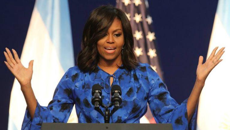 Michelle Obama en discurso