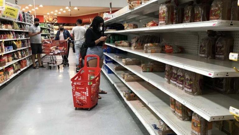 Compras de pánico en Cancún