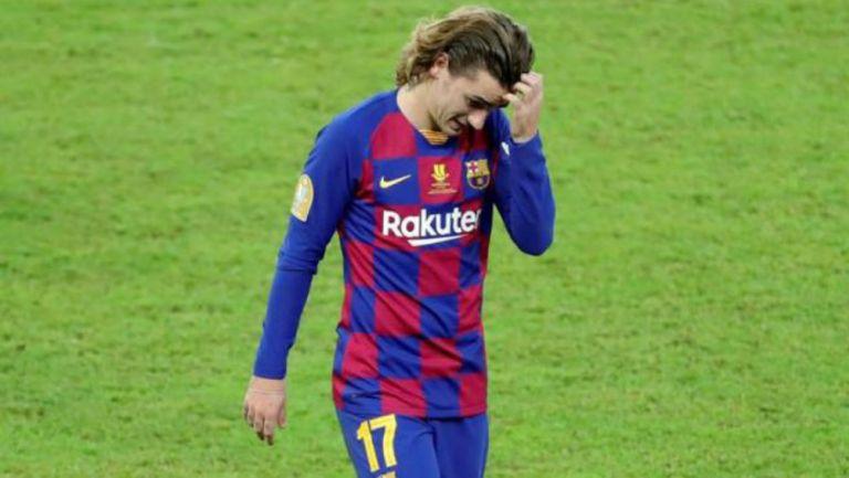 Barcelona: Deschamps aseguró que Antoine Griezmann no está contento con el club culé