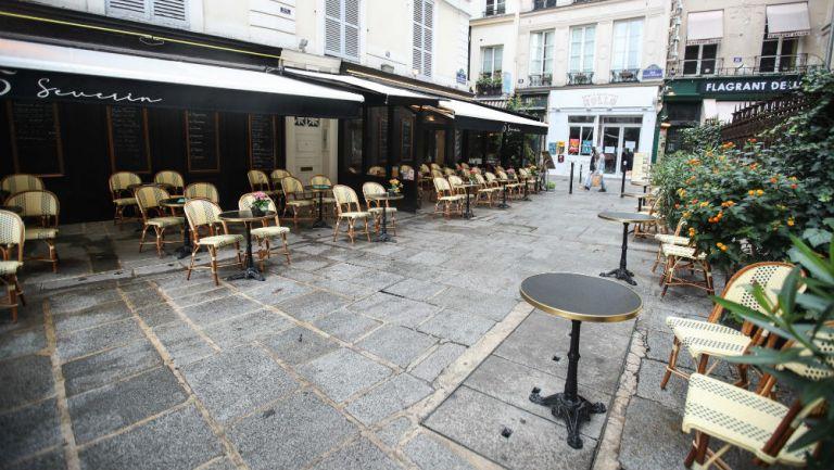 Coronavirus: Francia cierra cafés y bares en París para detener epidemia de Covid-19