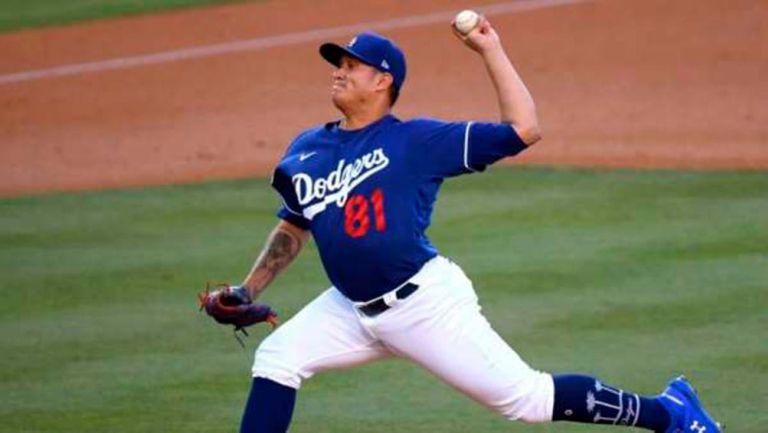 Víctor González previo al Dodgers y Padres: 'Esperemos en Dios tener la victoria'