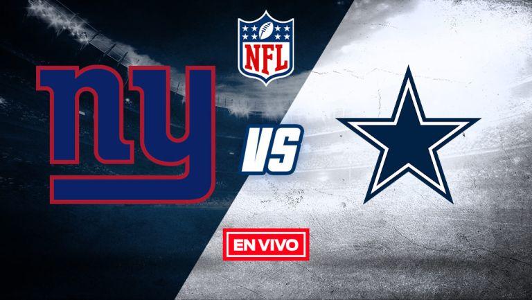 EN VIVO Y EN DIRECTO: Giants  vs Cowboys 2020 Semana 5
