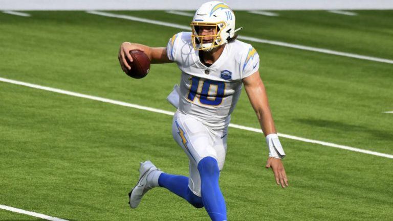 Justin Herbert quarterback Los ÁngelesChargers